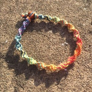 Jewelry - rainbow twist hemp bracelets 🌈
